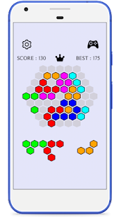 Hexa Cell Connect - A Puzzle Game - náhled