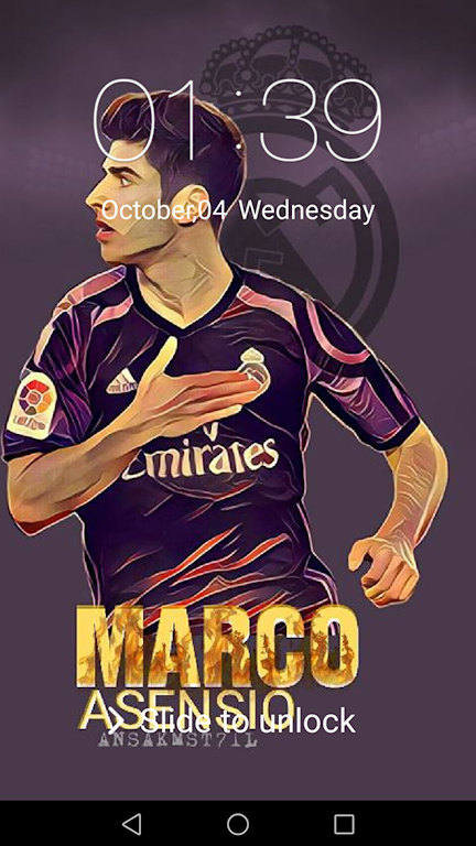 Descargar Passcode For Marco Asensio Wallpapers Hd Apk