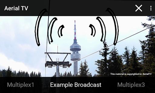 Aerial TV - DVB-T receiver 1.42 screenshots 1