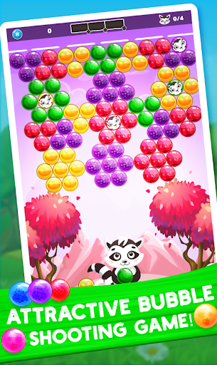 Raccoon Rescue: Bubble Shooter Saga screenshot 3