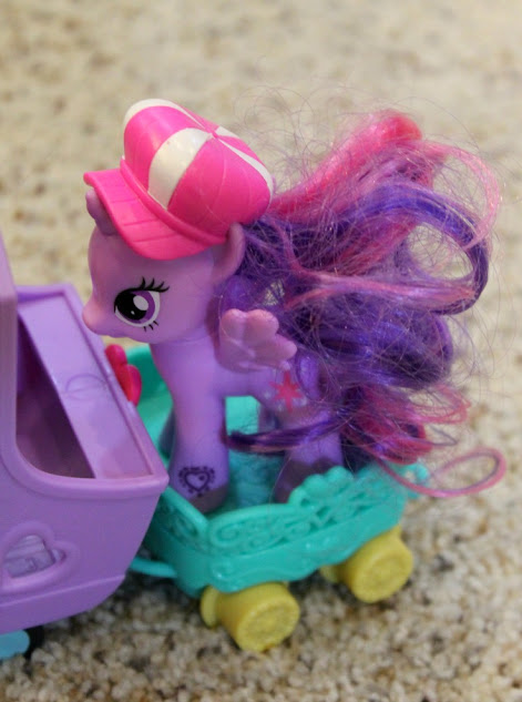 Fun Hasbro Toys - Princess Twilight Sparkle is the Conductor of the My Little Pony Explore Equestria Friendship Express Train