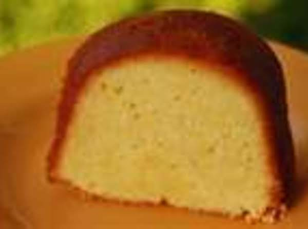 Greg's Pound Cake With Butter Sauce Recipe