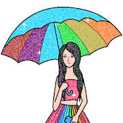Girls Glitter Color by Number - Fashion Coloring APK for Ubuntu