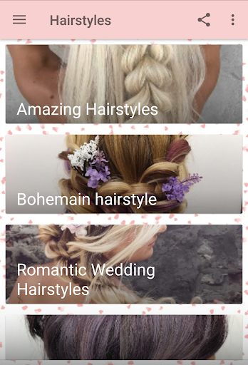 Women Hairstyles Ideas 2.5 screenshots 5