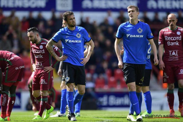 De ene 2 op 9 is de andere niet: Club Brugge mag titeldromen stilaan opbergen na makke prestatie bij Zulte Waregem