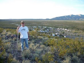 Photo: West side of the big RV Park with Dieter the hiker