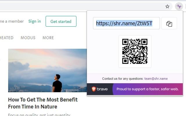 shr.name - URL Shortener Service