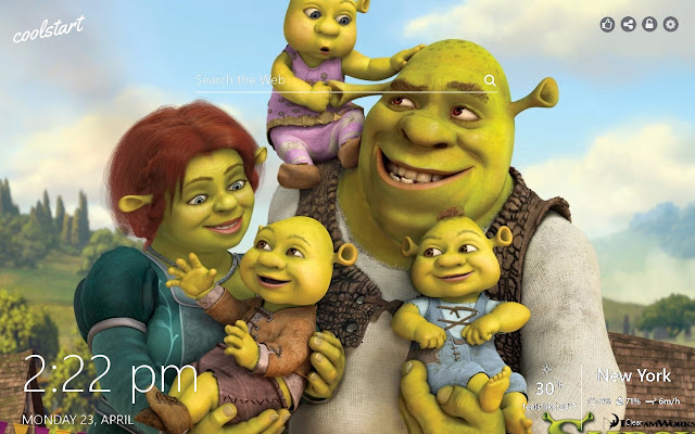 Shrek Hd Wallpapers Animation Movie Theme