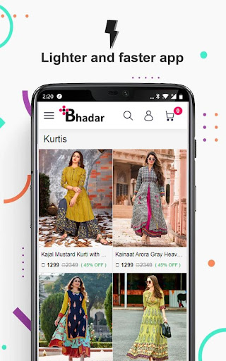 Bhadar Online Shopping App screenshot 1