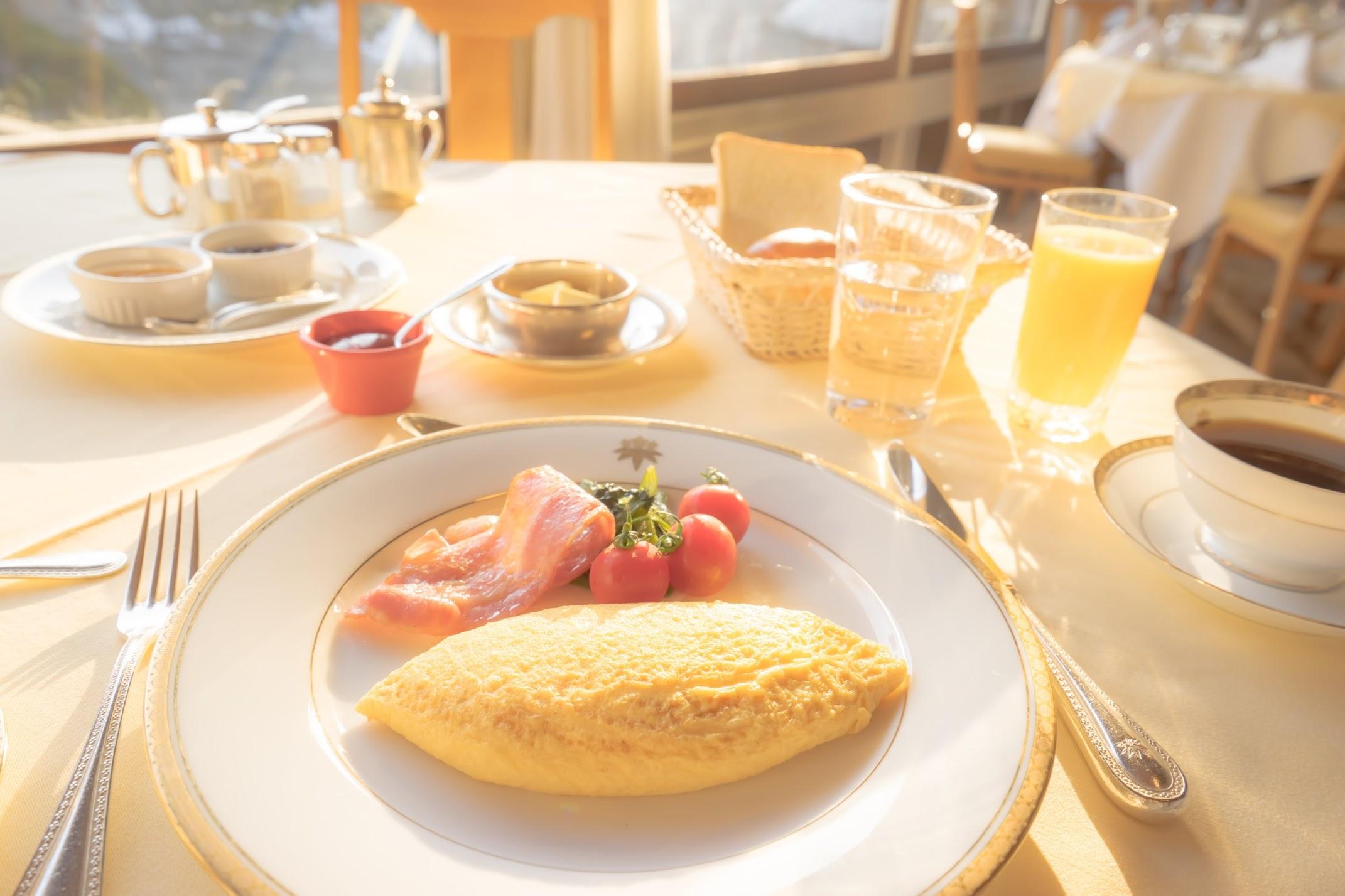 Nikko Kanaya Hotel breakfast