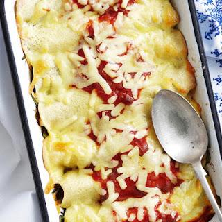 Baked Polenta Crêpes