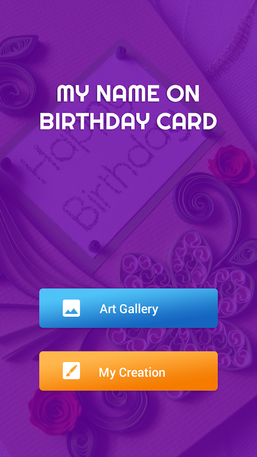 Name on Birthday Card Android Apps on Google Play – Photos of Birthday Card
