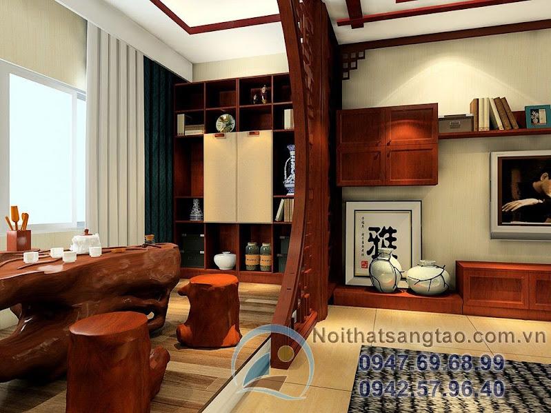 bàn ghế gỗ kiểu Trung Quốc