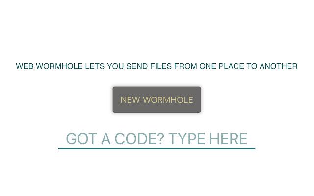 WebWormhole
