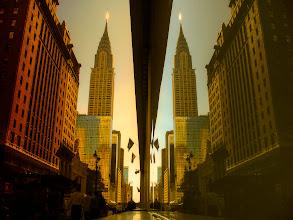 Photo: Chrysler Reflection (Orange Version)