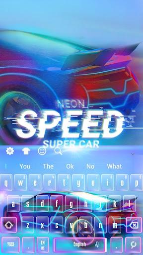 Speedy Sportscar Keyboard 10001006 screenshots 4