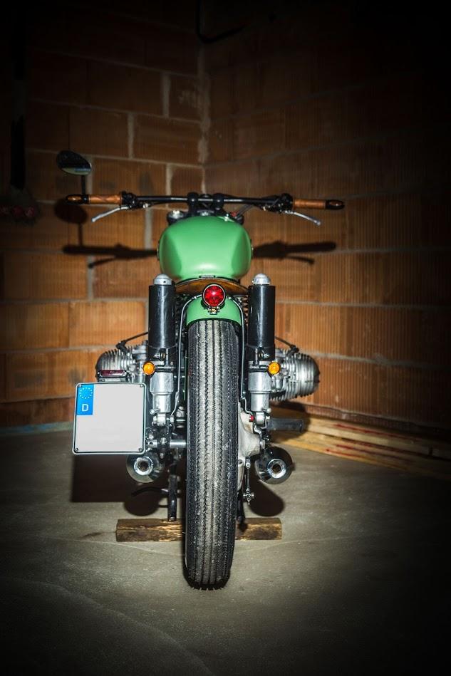 Schon anzuschauen der Bobber von BMW Motorrad
