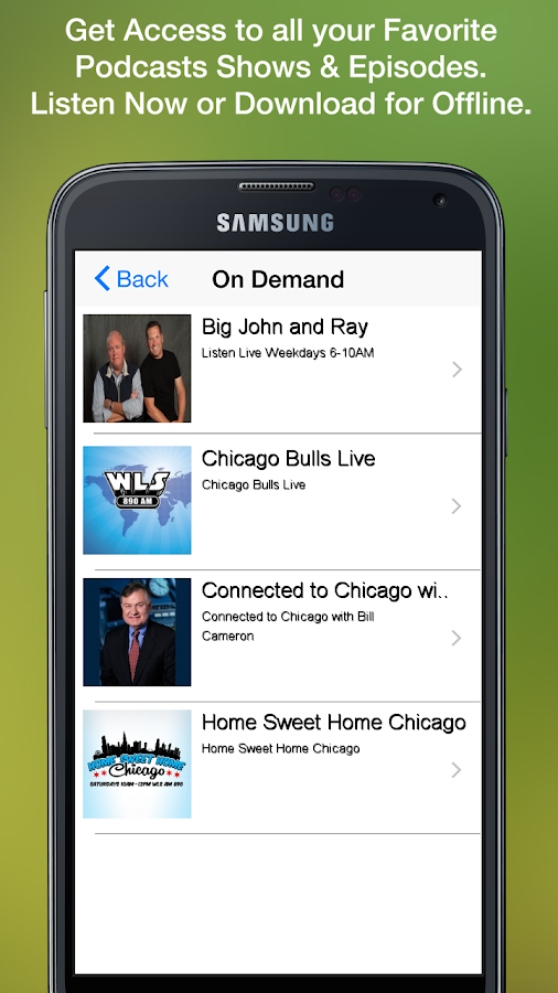 WLS-AM 890- screenshot