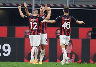 🎥AC Milan blijft door assist van Saelemaekers in het spoor van leider Inter