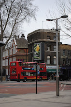 Photo: You know you're in London when you see a red double decker.