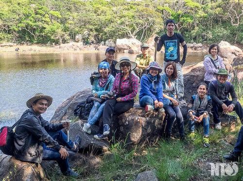 Vườn quốc gia Núi Chúa, hồ treo trên núi 3