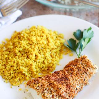 Hemp Seed Crusted Cajon Fish