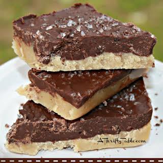 Chocolate Salted Caramel Bars.