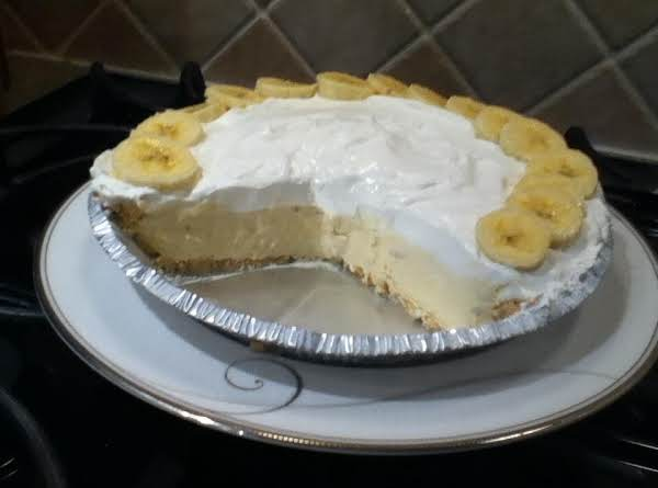 Low-fat Banana Cream Pie Recipe
