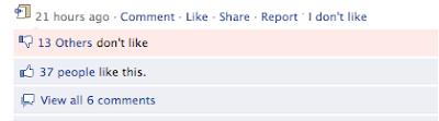 Qysh Me Dislike ne Facebook?