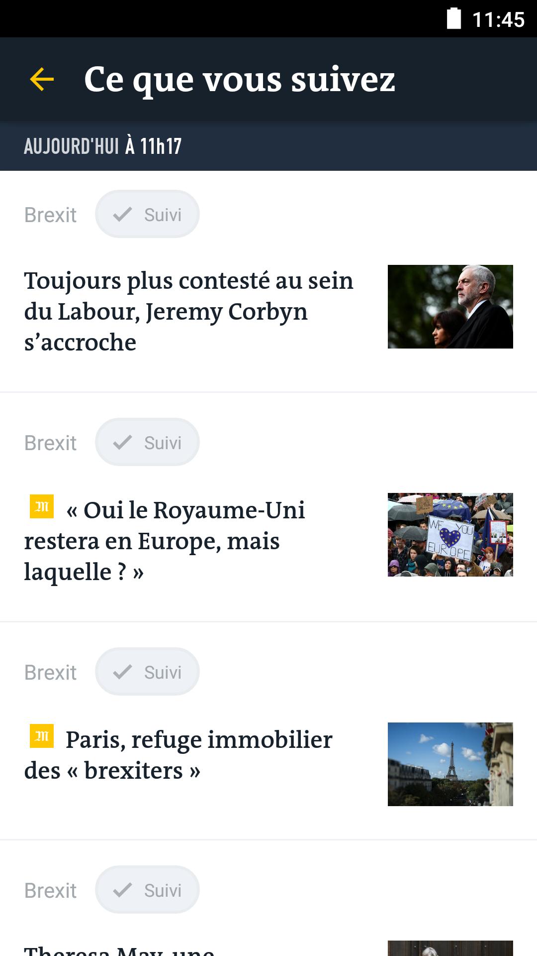 Le Monde, l'info en continu screenshot #4