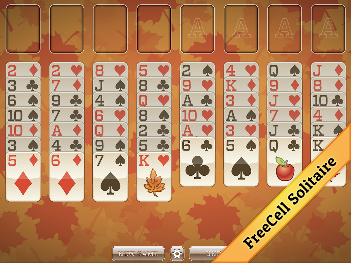 free fall solitaire