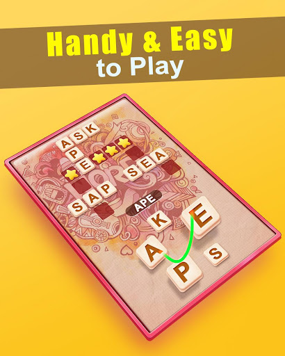 Word Cross game (apk) free download for Android/PC/Windows screenshot