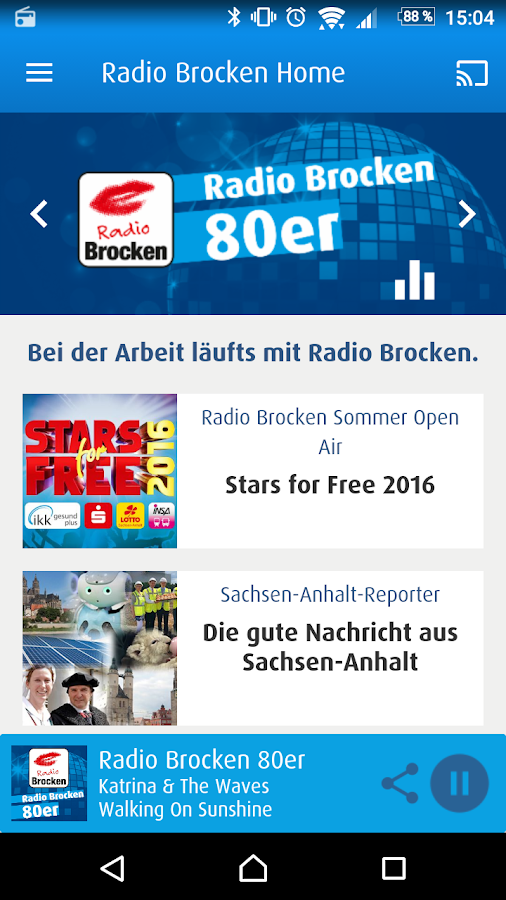 Radio Brocken- screenshot