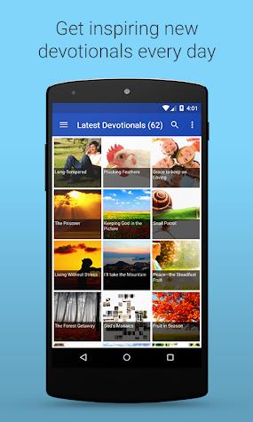 Daily Devotionals Screenshot