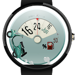 Let's Roll: Scooter Watch Face Icon