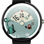 Let's Roll: Scooter Watch Face