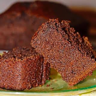 Ultra spongy Dark Chocolate-Coffee Cake.