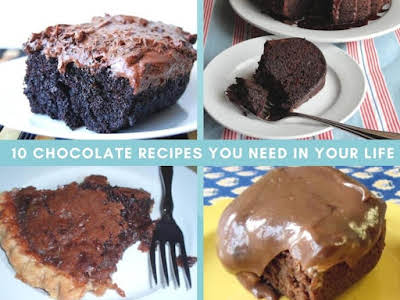 10 Chocolate Recipes You Need in Your Life