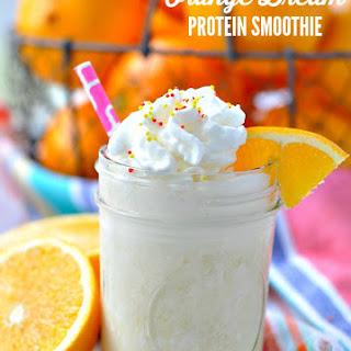 Orange Dream Protein Smoothie Recipe