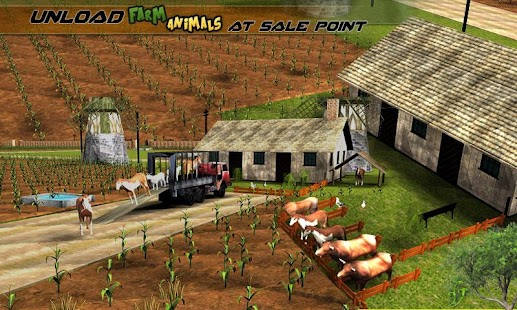 Transport Truck Farm Animals Screenshot Thumbnail