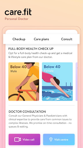 cure.fit Healthy food, Fitness, Yoga, Meditation screenshot 4