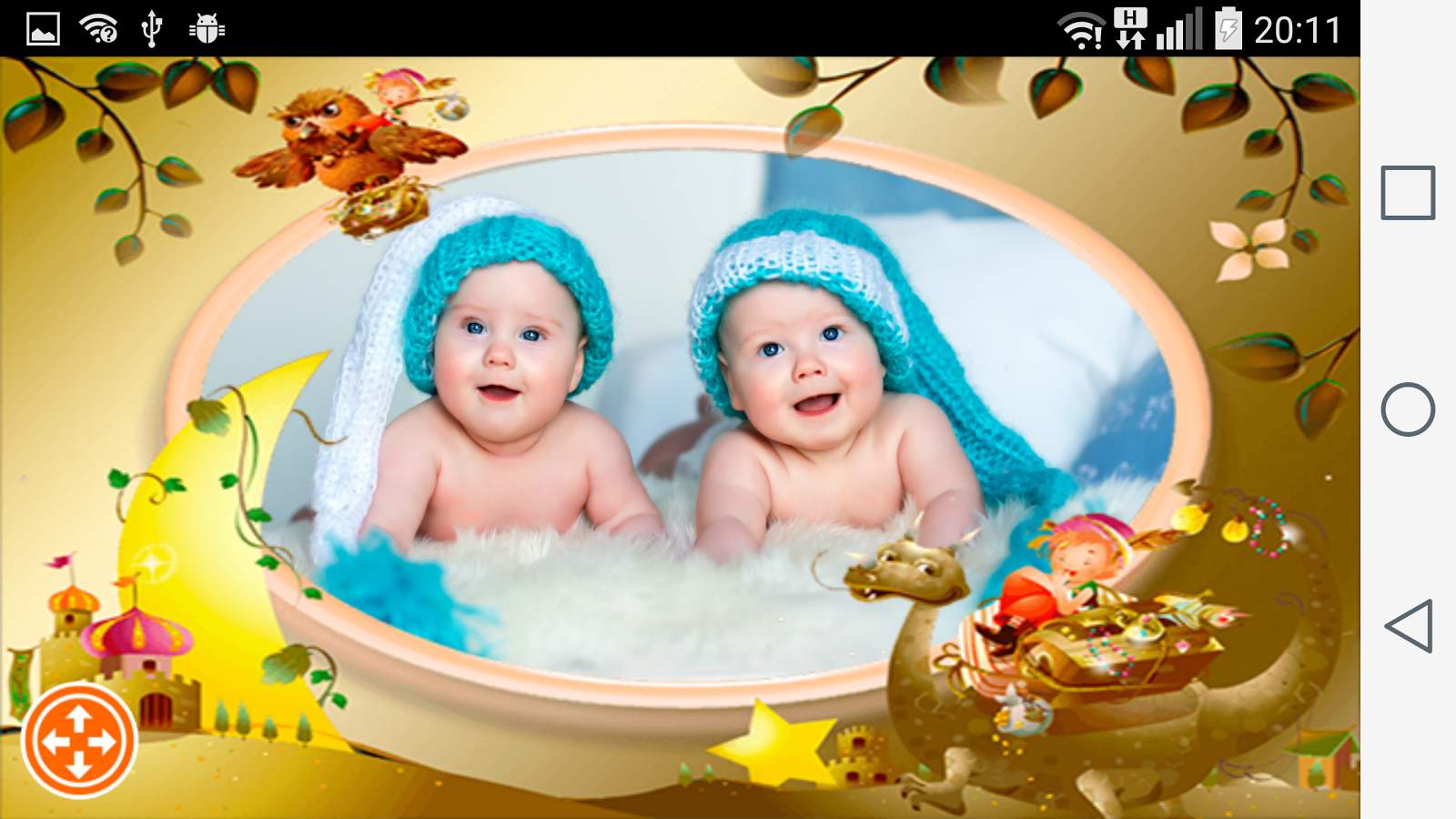 kids photo frames android apps on google play