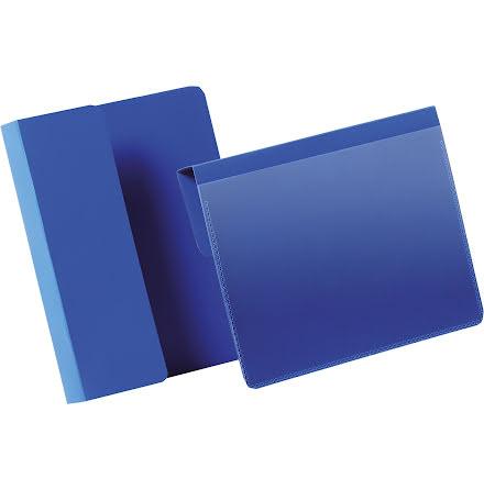 Pallficka A6L vikbar kant blå