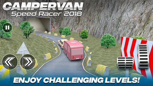 Download Camper Van Race Driving Simulator MOD APK 2