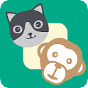 Feeding Monkey Cat icon