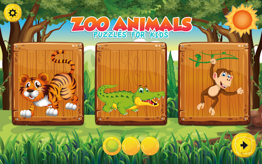 Puzzles for kids Zoo Animals  screenshots 4