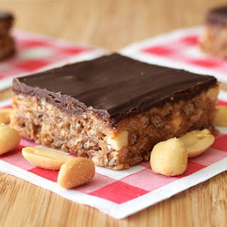 Triple Peanut Butter Cup Bars