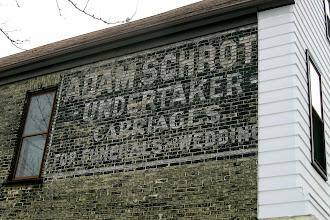 Photo: Old wall advertising Milwaukee