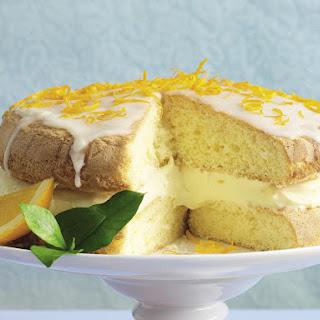 Orange Sponge Cake.