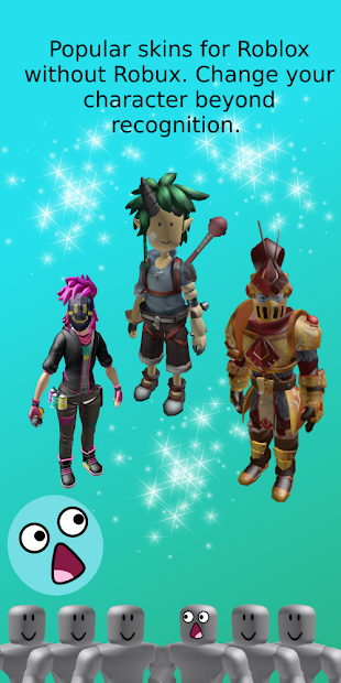 Skins for Roblox without Robux Android App Screenshot
